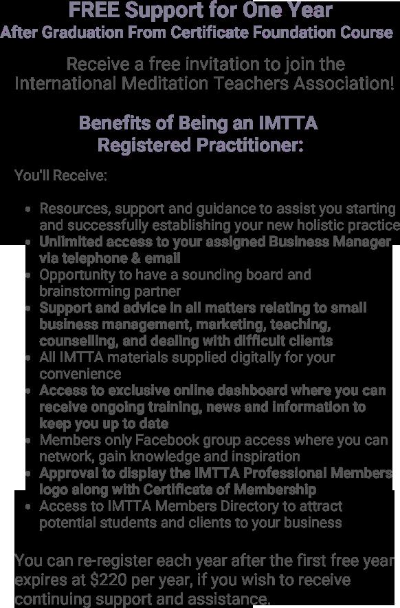 Meditation Teacher Courses Certificate in Meditation Teaching & Holistic Human Development